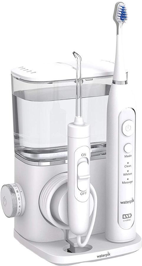 WATERPIK Complete Care 9.0 CC-01EU - zestaw irygator do zębów ze szczoteczką soniczną