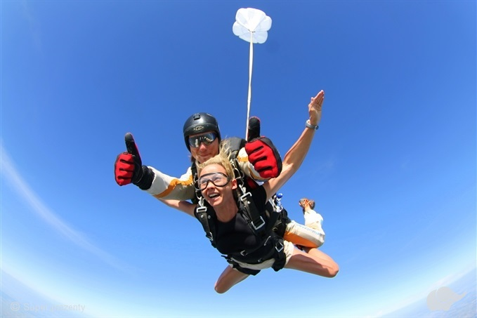 Skok spadochronowy Konin