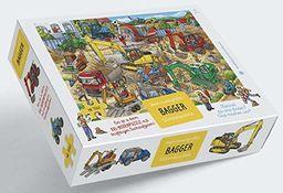 Kopger puzzle: XXL - Puzzle podłogowe z 48 dużymi częściami od 3 lat - Mój ogromny rozmiar koparki puzzle z motywem z wibem