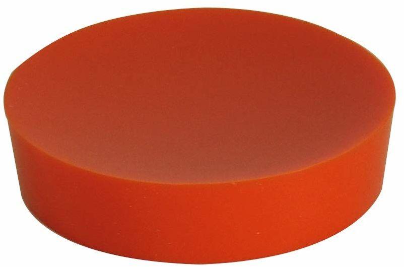 Grund PICCOLO mydelniczka 10,4 x 10,4 x 2,5 cm pomarańczowe akcesoria, 100% żywica poliestrowa, 4 x 10,4 x 2,5 cm