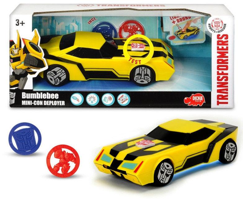 Dickie - Transformers Bumblebee z wyrzutnią 3114003