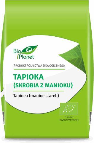 Tapioka (Skrobia z Manioku) 400g - Bio Planet - EKO