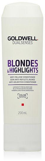 Goldwell Dualsenses Blondes & Highlights Anti Yellow Odżywka do włosów blond i z pasemkami 200 ml