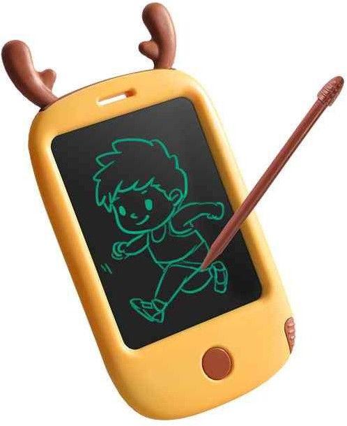 """WOOPIE Smartfon Mobilny Telefon Tablet 4,4"""" dla Dzieci do Rysowania Znikopis Łoś + Rysik"""