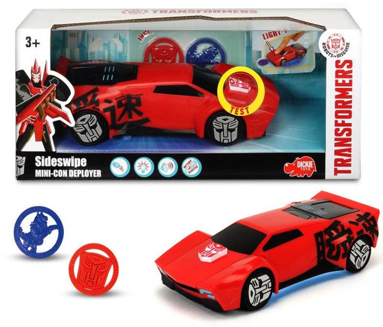 Dickie - Transformers Sideswipe z wyrzutnią 3114004