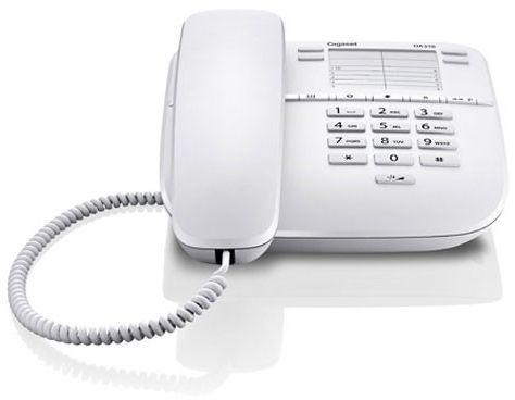 Telefon DA310 GIGASET kolor biały