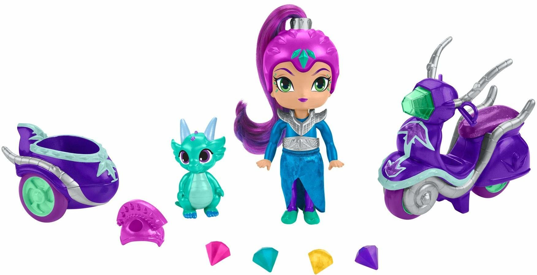 Fisher Price - Shimmer and Shine - Zeta''s Scooter