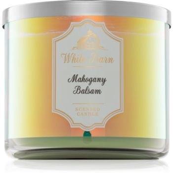 Bath & Body Works Mahogany Balsam świeczka zapachowa I. 411 g