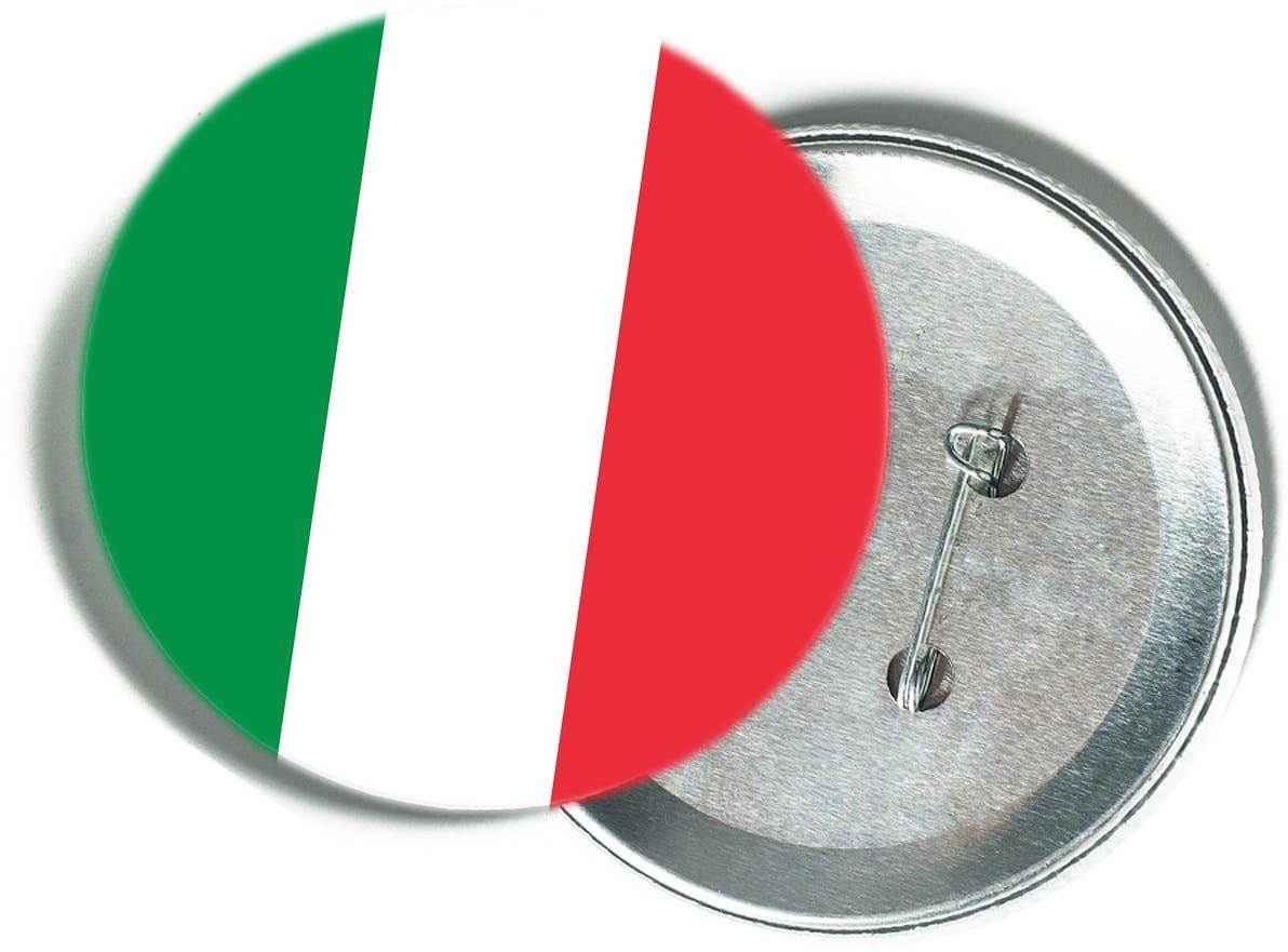 Przypinka Flaga Włoch - 1 szt.