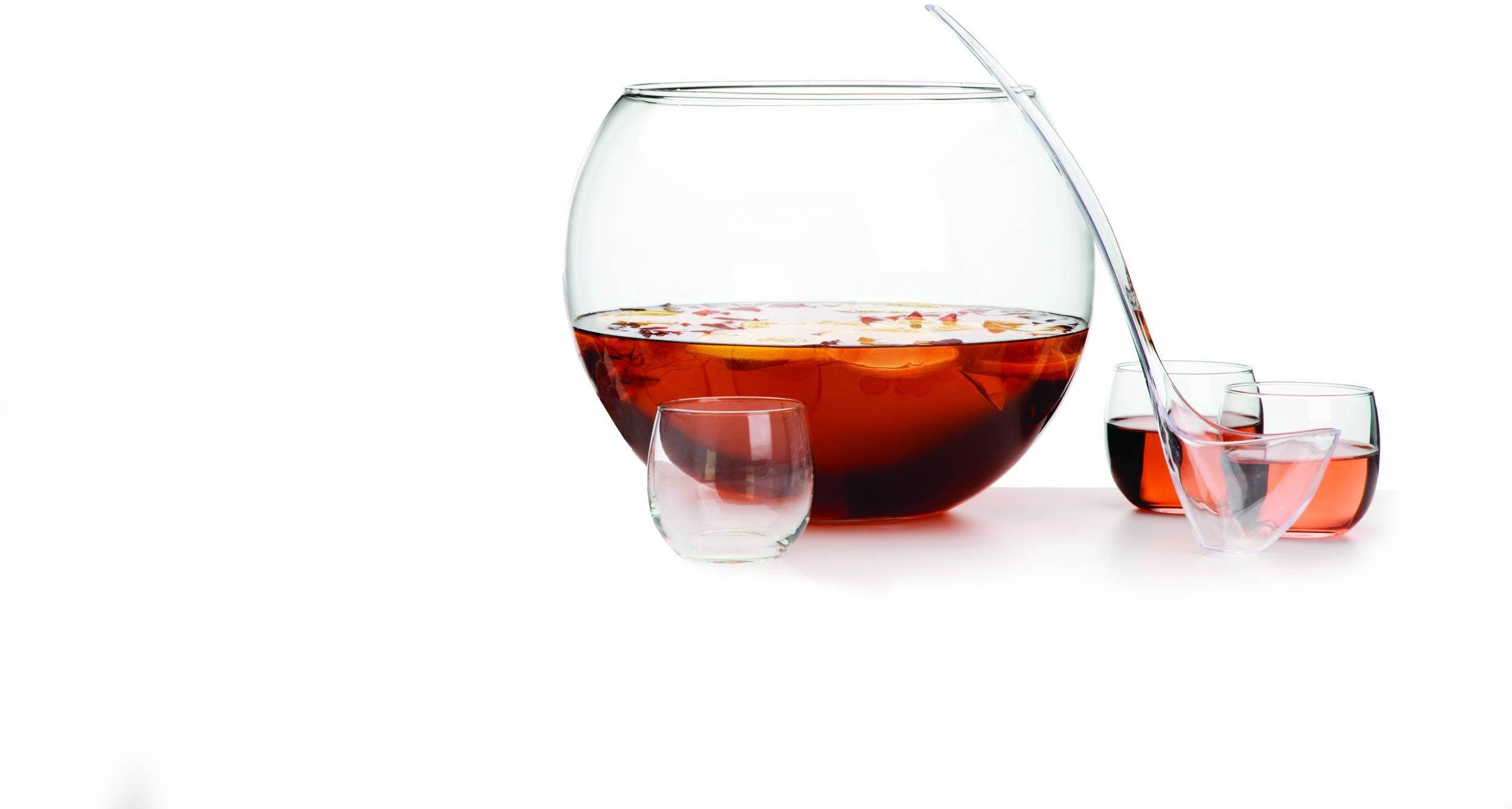 Waza do ponczu 1280 ml + chochelka + szklanki Libbey