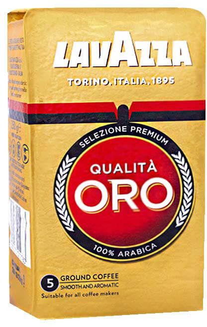 Lavazza Qualita Oro 100% Arabica 0,25 kg mielona
