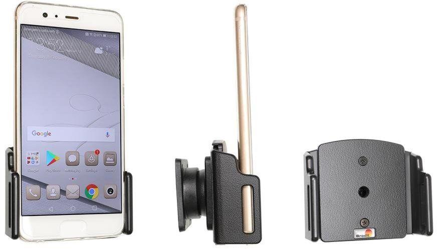 Uchwyt uniwersalny regulowany do telefonu bez futerału oraz w futerale lub etui o wymiarach: 70-83 mm (szer.), 2-10 mm (grubość)