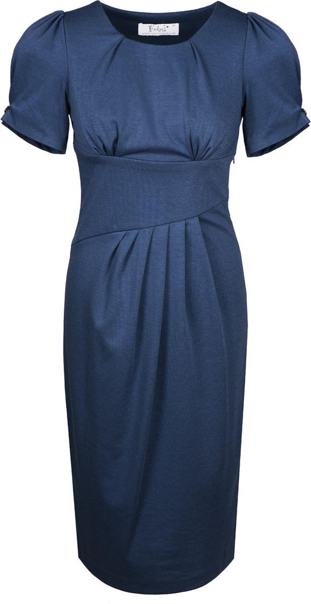 Sukienka FSU237 GRANATOWY