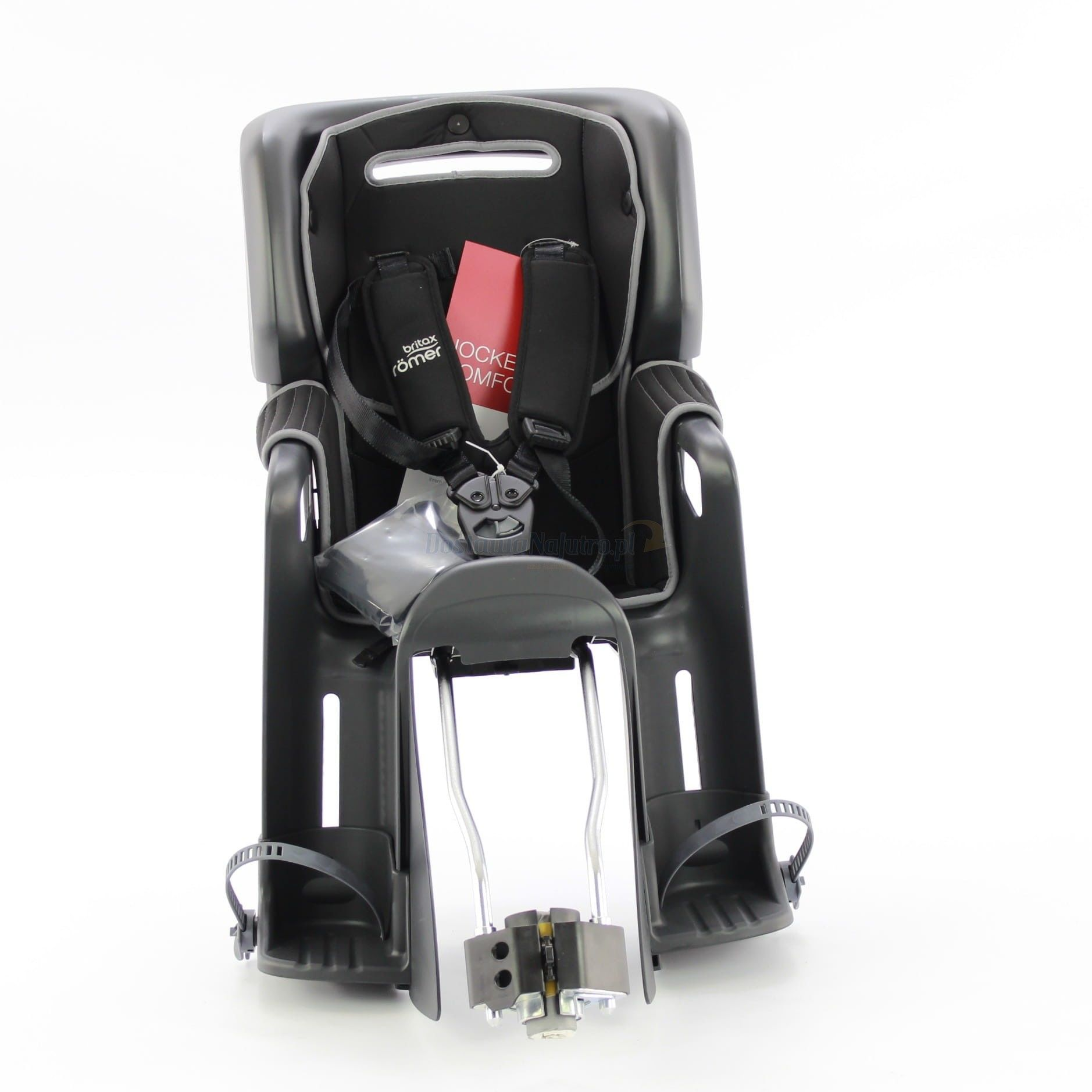 Fotelik rowerowy ROMER JOCKEY3 COMFORT BRITAX- kolor szaro czarny 2020