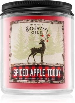 Bath & Body Works Spiced Apple Toddy świeczka zapachowa III. 198 g
