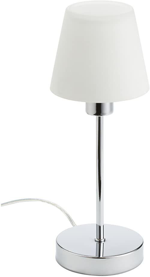 Trio Leuchten Lampa stołowa Luis Chrom, metal, szkło, ściemniacz dotykowy 595500106
