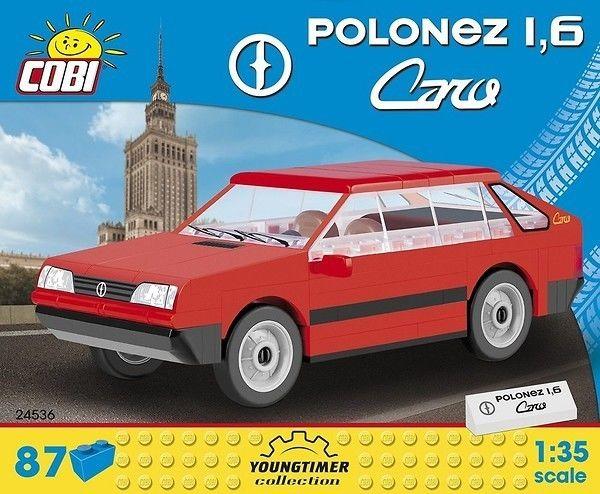 Klocki Youngtimer Collection 87 elementów Polonez 1,6 Caro