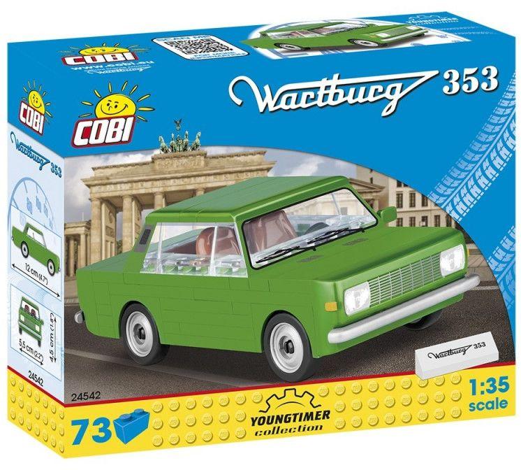 Klocki Youngtimer Collection 73 elementów Collection Wartburg 353