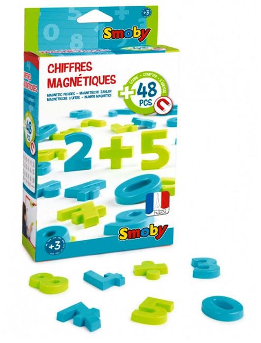 Smoby - Cyferki magnetyczne na tablice 430101