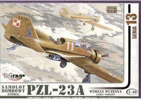 """PZL-23A """"KARAŚ"""" Polski Samolot Bombowy - wersja wczesna"""