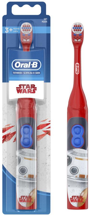 BRAUN Oral-B DB3 Battery Stages STAR WARS - bateryjna szczoteczka elektryczna dla dzieci