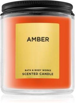 Bath & Body Works Amber świeczka zapachowa 198 g