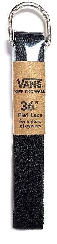 sznurowadła VANS FLAT LACES 36 Black