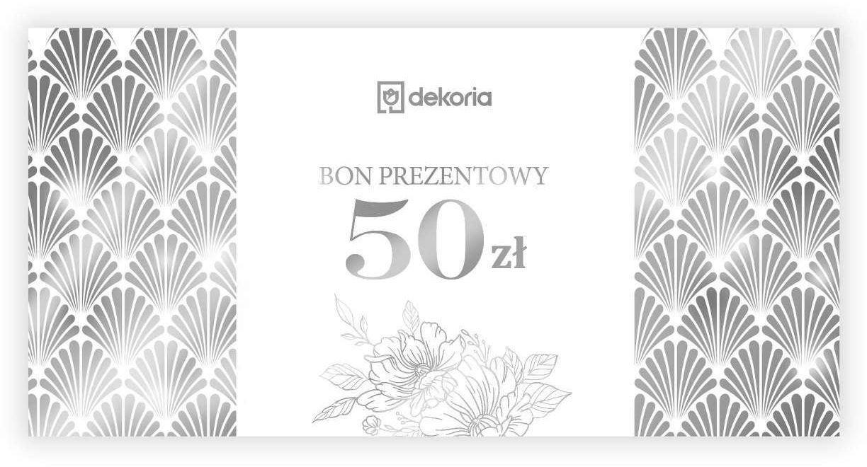 Bon prezentowy 50 zł, bon