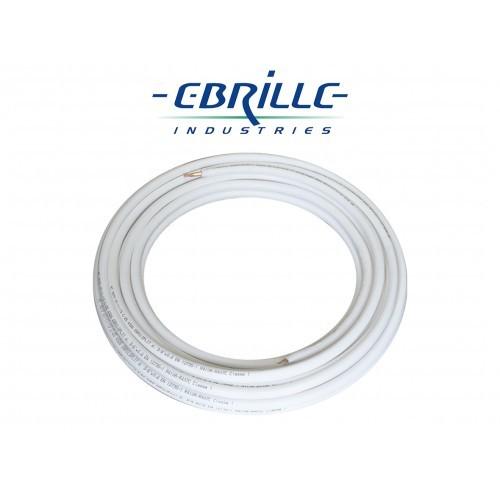 Krąg rury miedzianej w otulinie EBRILSPLIT - 25mb - 3/8cala (9,52mm) (EBR38K)
