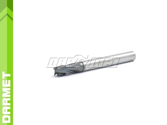 Frez 4-ostrzowy ogólnego przeznaczenia, krótki DIN6527-K, VHM AlTiN - 6MM - DARMET