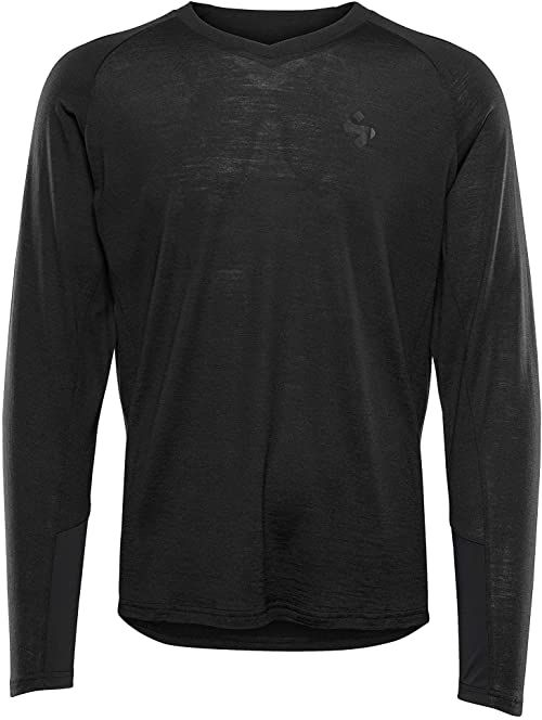 Sweet Protection Hunter Merino LS męska koszulka M, męska, koszulka, 828079, czarna, S
