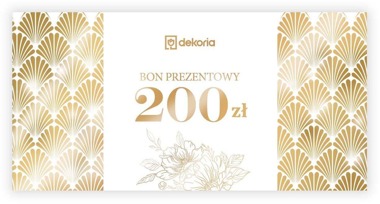 Bon prezentowy 200 zł, Bon