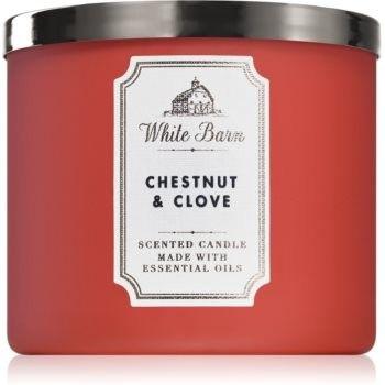 Bath & Body Works Chestnut & Clove świeczka zapachowa 411 g