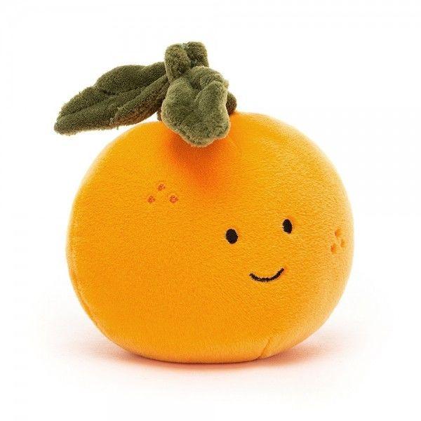 Jellycat - Przytulanka Maskotka Fabulous Pomarańcza 9cm