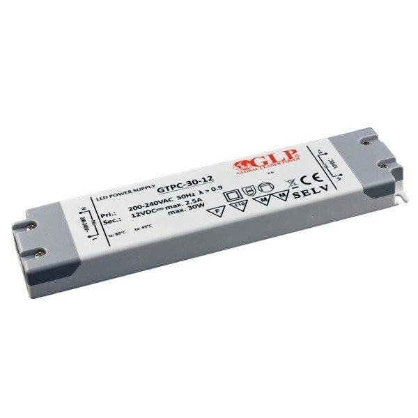 Zasilacz impulsowy LED GTPC-30-12 30W