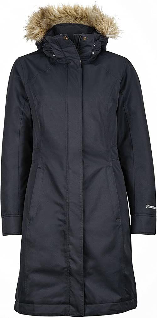 Lekka kurtka puchowa, 700 Fill-Power, stylowa, ciepła parka, wodoodporna, wiatroszczelna. czarny czarny X-S