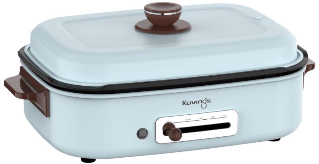 Multi Grill Elektryczny Kuvings Multifunkcyjny  Oficjalny Partner Kuvings   2 Płyty w Cenie