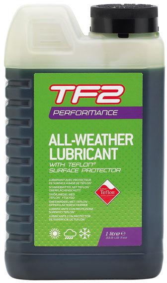 WELDTITE olej do łańcucha tf2 performance teflon all weather (warunki suche i mokre) 1litr WLD-3048,5013863030485