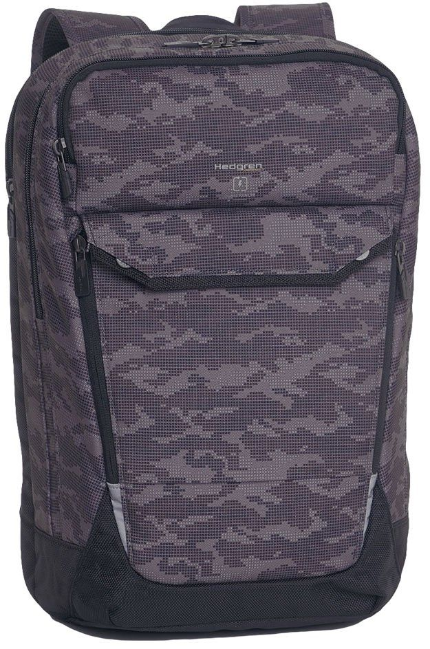 "Plecak torba podróżna Hedgren Hookup Backpack 15,6"" RFID - camo print - camo print"