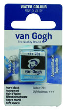 Talens Van Gogh Aquarel Farba kostki 701 Ivor Blac
