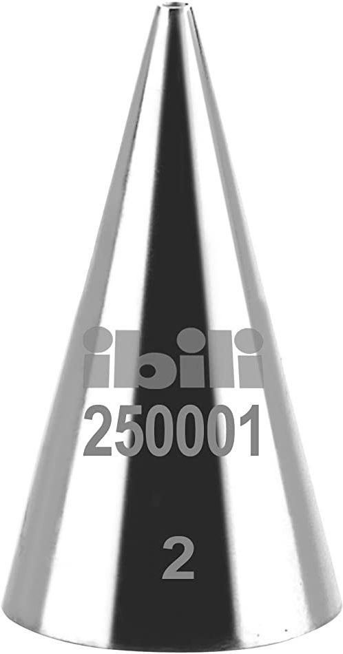 Ibili 250001 tulejka do worka do wyciskania, okrągła, 1 mm