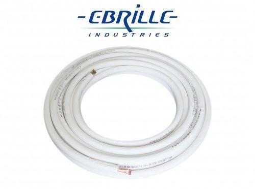 Krąg rury miedzianej w otulinie EBRILSPLIT - 25mb - 5/8cala (15,88mm) (EBR58K)