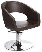 Fotel fryzjerski Paolo BH-8821 brązowy