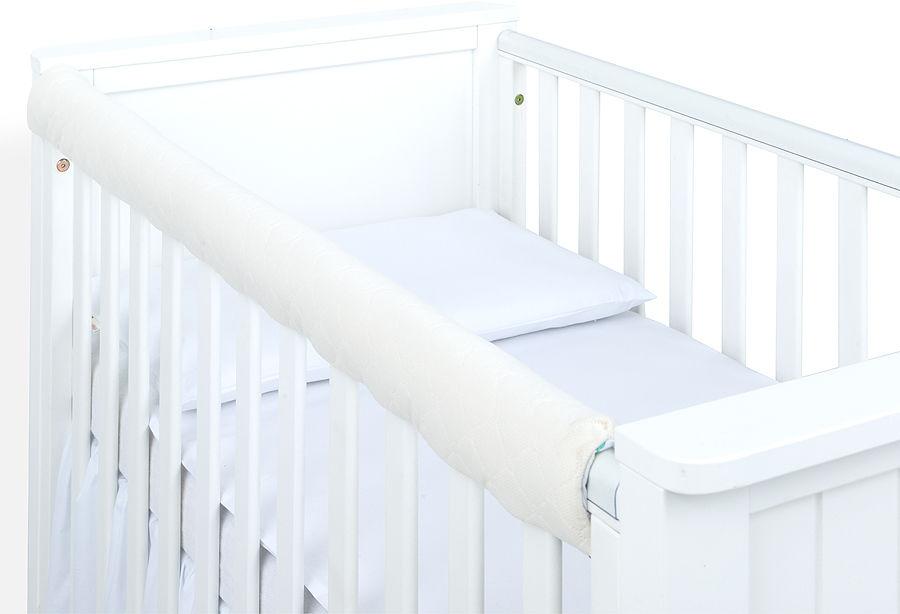 MAMO-TATO Ochraniacz na górną krawędź łóżeczka - Velvet Ecru