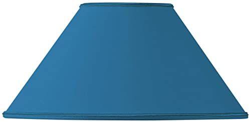 Retro klosz średnica 25 x 09 x 14,5 cm jasny niebieski