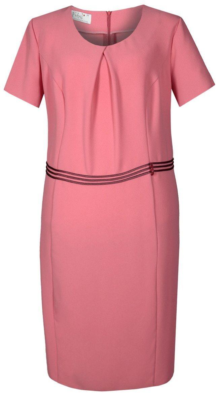 Sukienka FSU254 KORALOWY