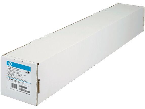 Papier HP Bright White Inkjet Paper, 420 mm x 45,7 m 90 g/m  Q1446A