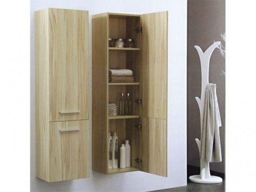 Szafka łazienkowa z dwoma drzwiami KANSAS, Made in Italy