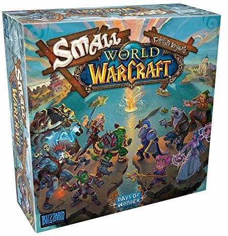 Asmodee Small World of Warcraft, gra edukacyjna, niemiecki