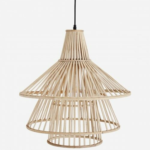 Bambusowa lampa wisząca Madam Stoltz